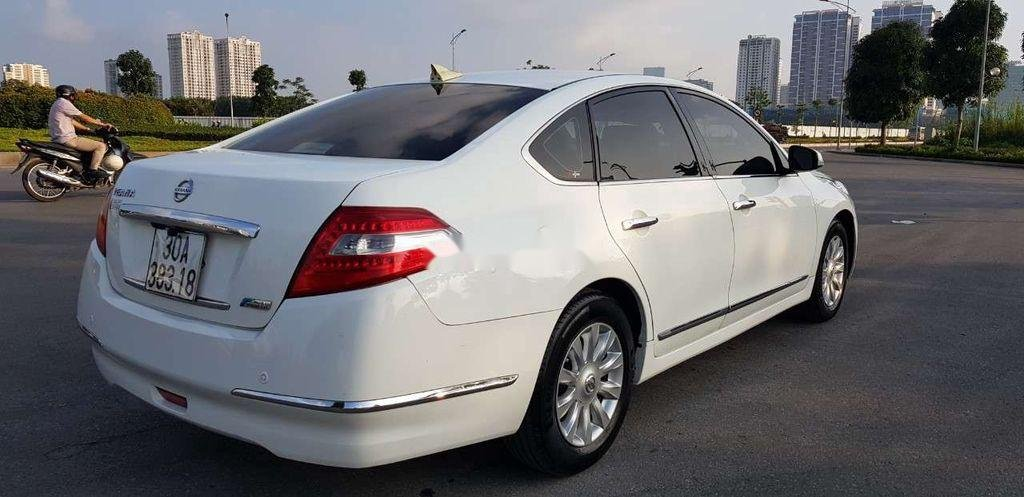 Cần bán xe Nissan Teana sản xuất 2010, màu trắng, nhập khẩu, giá 416tr (4)