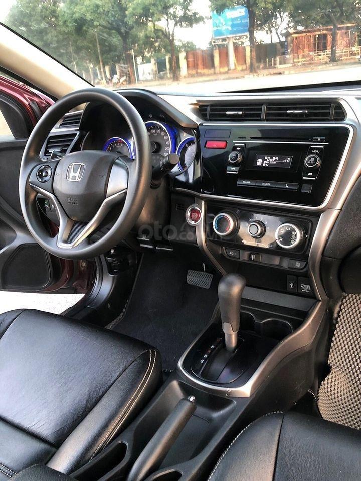 Cần bán xe Honda City đời 2016, màu đỏ (4)