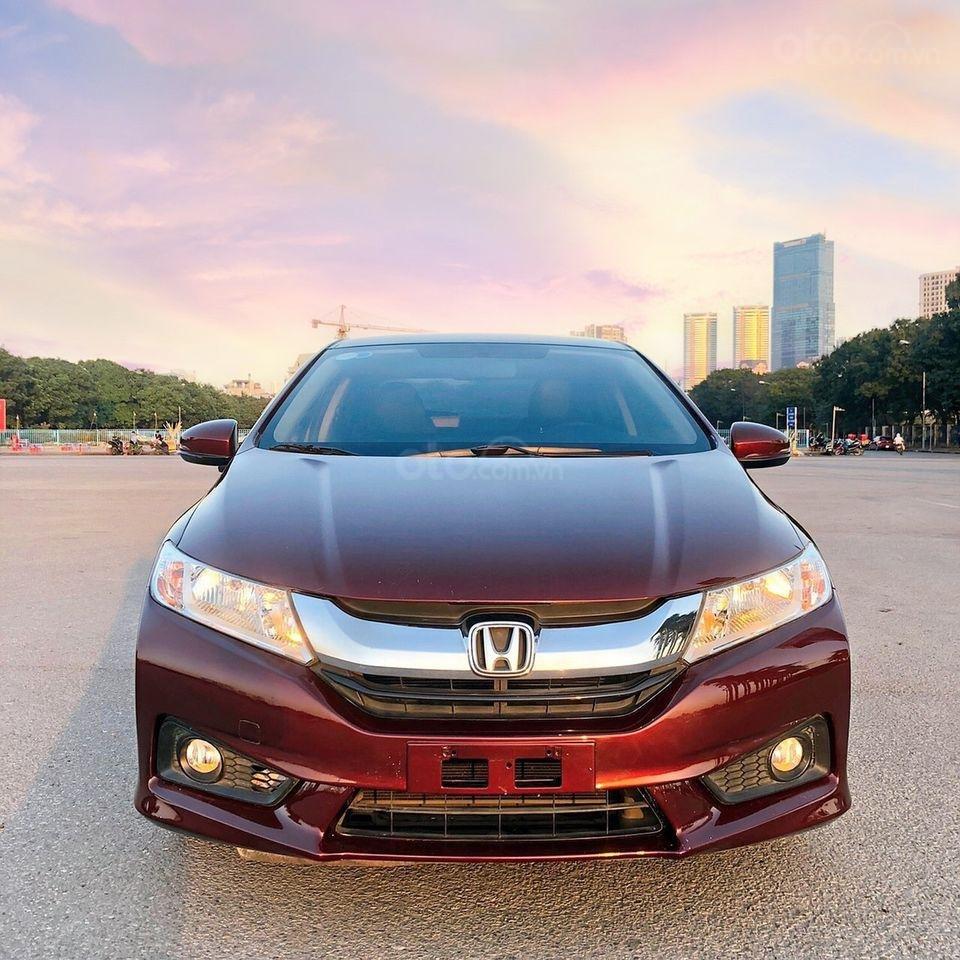 Cần bán xe Honda City đời 2016, màu đỏ (1)