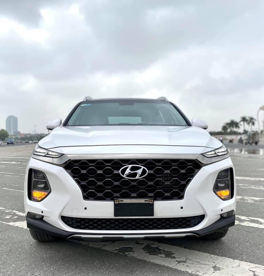 Cần bán nhanh chiếc Hyundai Santafe máy dầu đặc biệt đời 2019 giao nhanh (3)