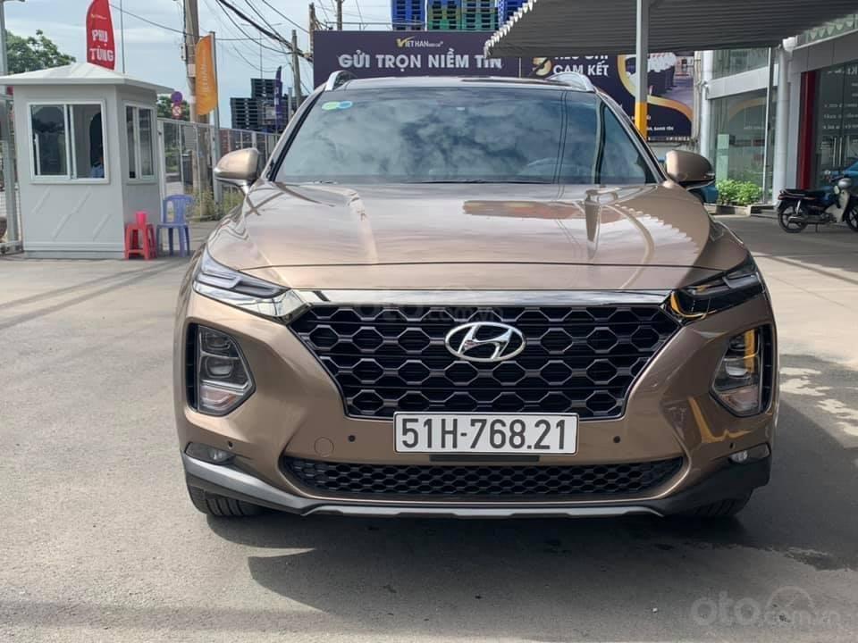 Cần bán nhanh với giá thấp chiếc Hyundai Santa Fe 2020 2.4AT đời 2020, xe còn mới (3)