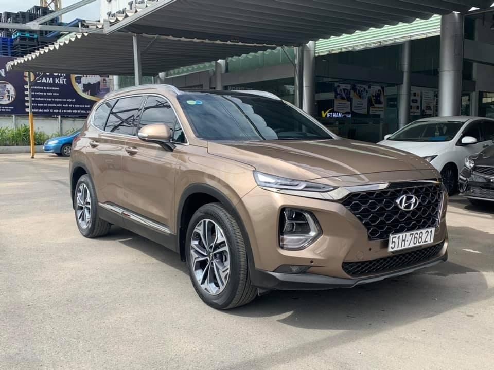 Cần bán nhanh với giá thấp chiếc Hyundai Santa Fe 2020 2.4AT đời 2020, xe còn mới (1)