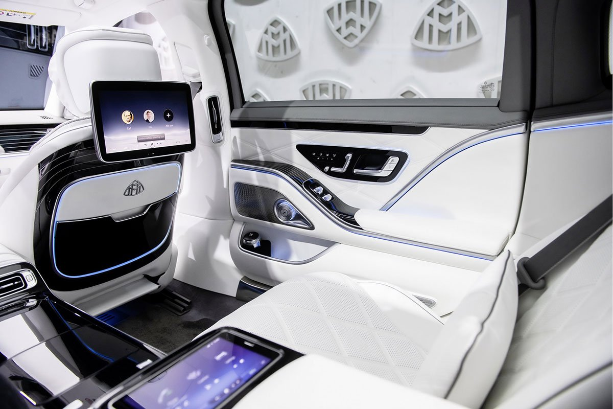 Ngắm trọn bộ ảnh Mercedes-Maybach S-Class 2021 vừa ra mắt: Đúng chất