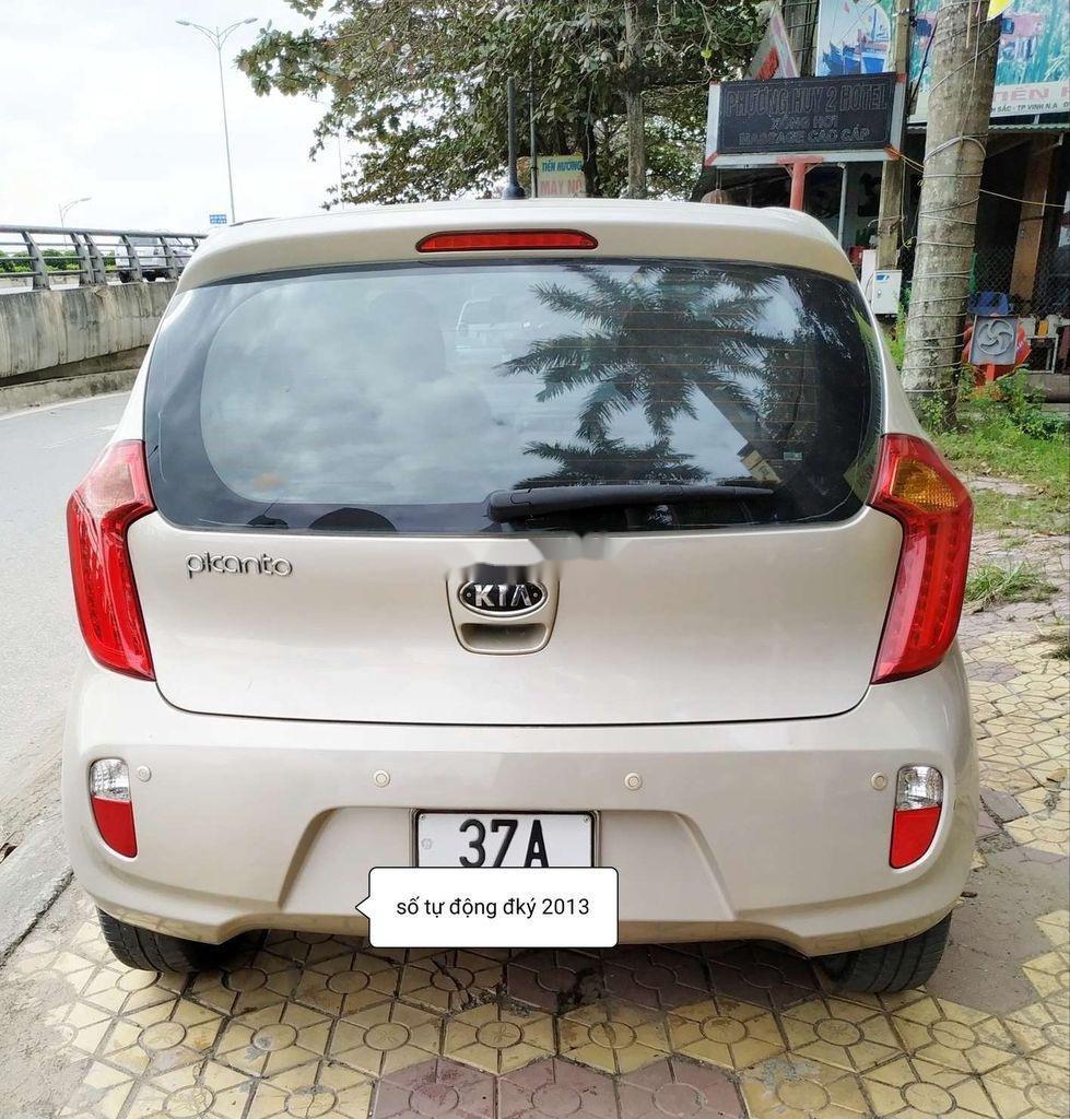 Bán xe Kia Picanto 2012, chính chủ ít sử dụng (3)