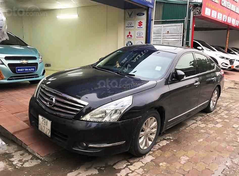 Cần bán Nissan Teana đời 2010, màu đen, nhập khẩu, giá chỉ 395 triệu (1)