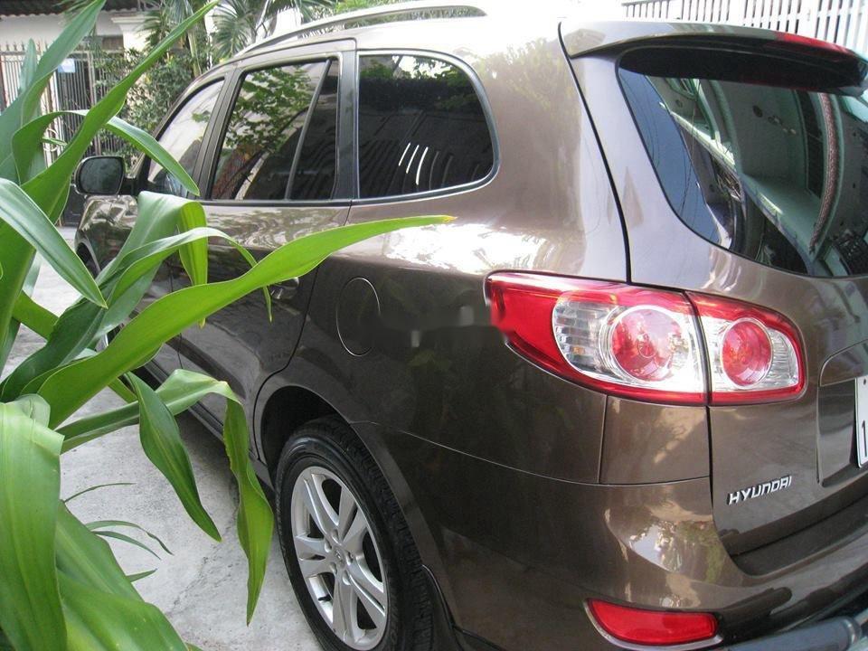 Bán Hyundai Santa Fe đời 2012, màu nâu, nhập khẩu chính chủ, 577 triệu (4)