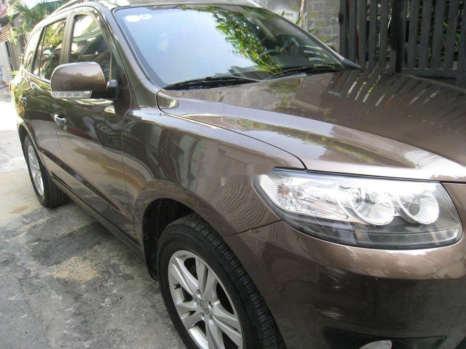 Bán Hyundai Santa Fe đời 2012, màu nâu, nhập khẩu chính chủ, 577 triệu (3)