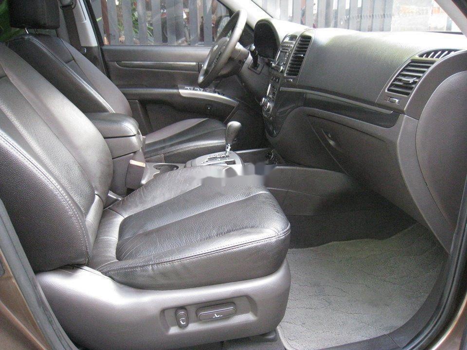 Bán Hyundai Santa Fe đời 2012, màu nâu, nhập khẩu chính chủ, 577 triệu (7)