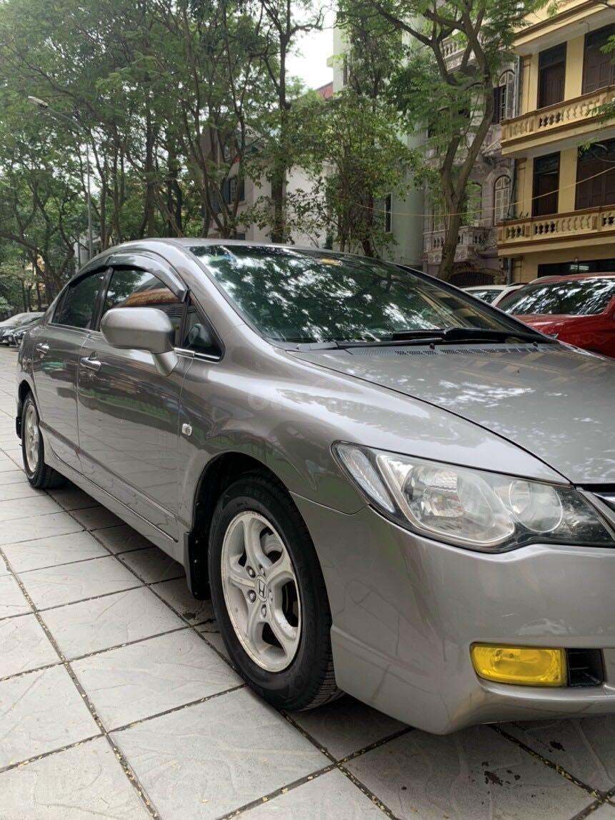 Cần bán Honda Civic đời 2008, màu ghi xám, chính chủ giá 295tr (4)