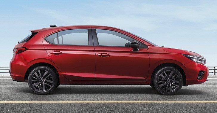 Honda City 2021 Hatchback hấp dẫn và đa dụng.