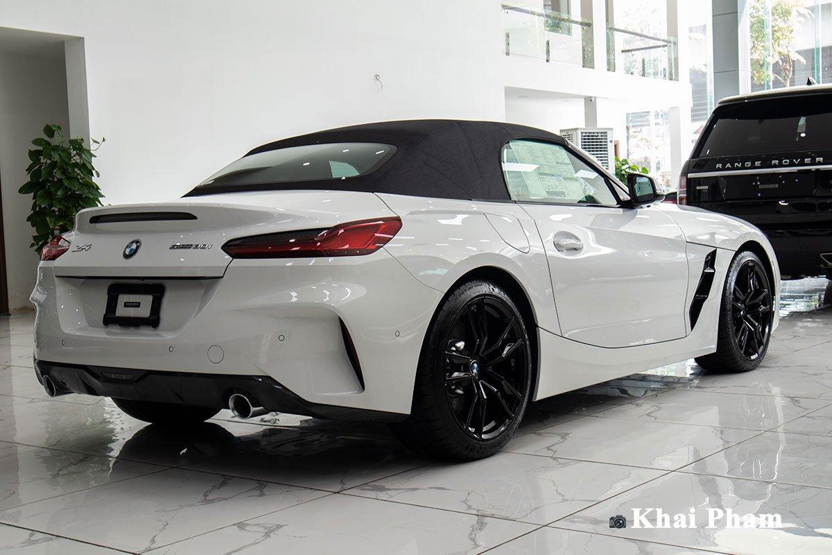 Ảnh chính diện Đuôi xe BMW Z4 2021