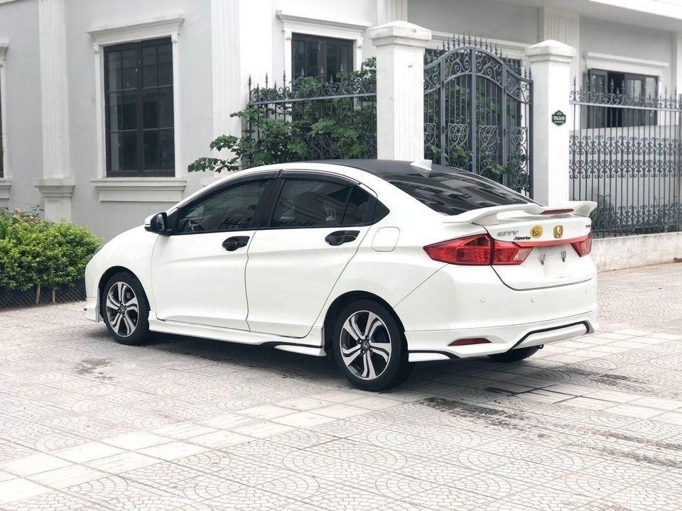 Cần bán gấp Honda City SX 2016, màu trắng (1)