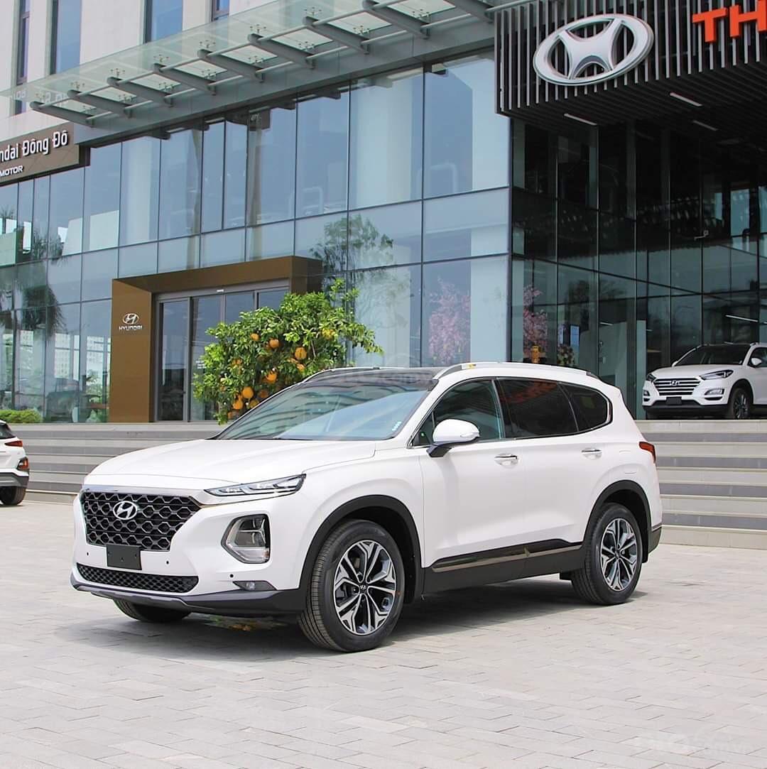 [Giảm sốc 60tr tiền mặt] Hyundai Santafe 2020 ưu đãi cuối năm Hot nhất (1)