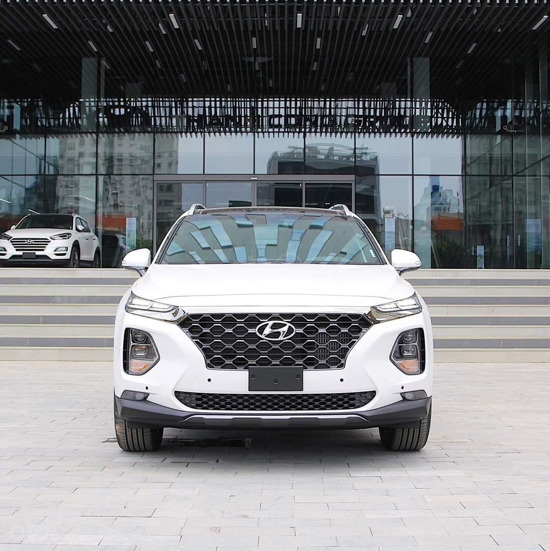 [Giảm sốc 60tr tiền mặt] Hyundai Santafe 2020 ưu đãi cuối năm Hot nhất (2)