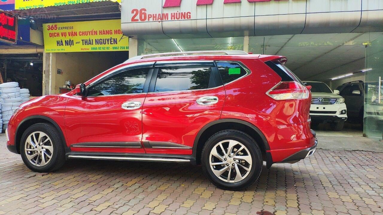 Cần bán gấp Nissan X trail đăng ký lần đầu 2018, màu đỏ ít sử dụng, giá thương lượng (4)