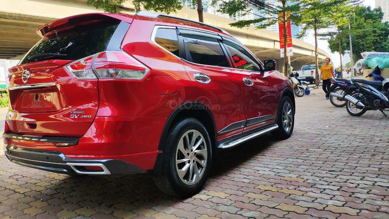 Cần bán gấp Nissan X trail đăng ký lần đầu 2018, màu đỏ ít sử dụng, giá thương lượng (6)