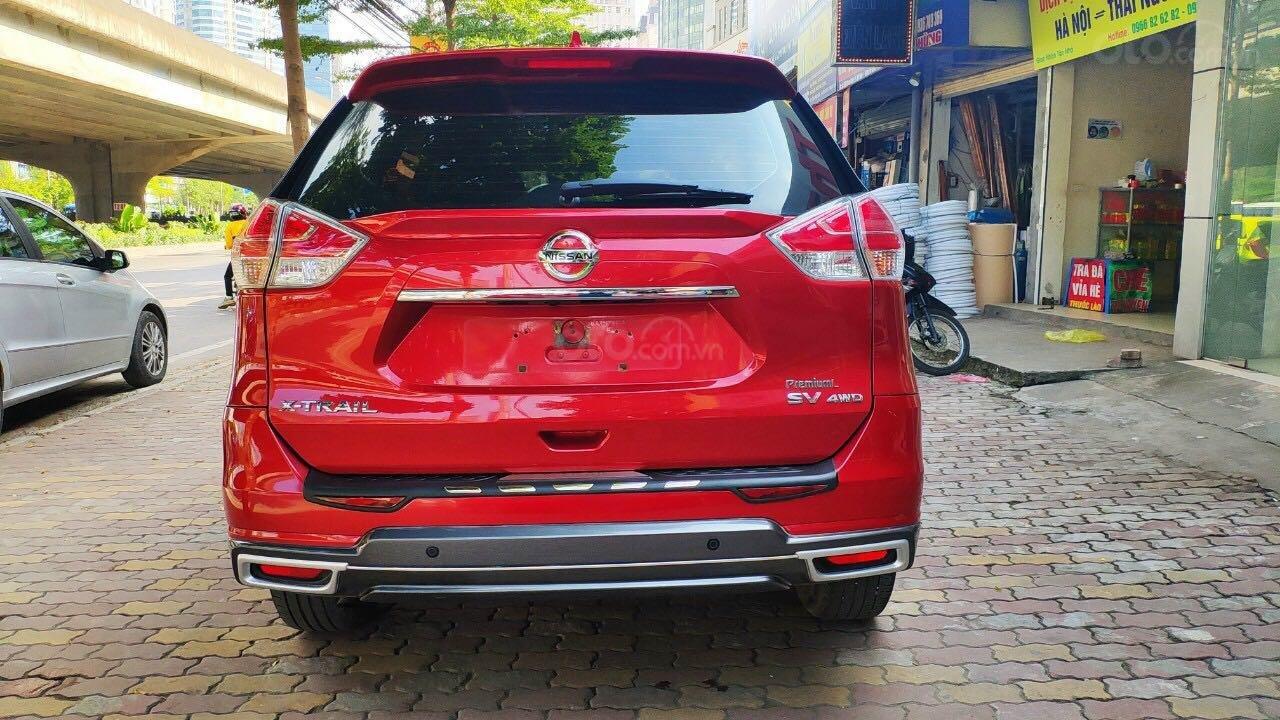 Cần bán gấp Nissan X trail đăng ký lần đầu 2018, màu đỏ ít sử dụng, giá thương lượng (5)