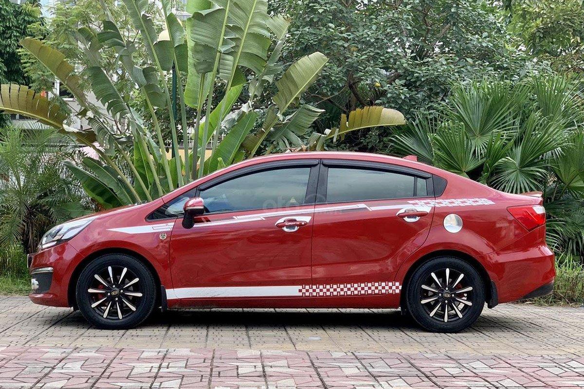 Thiết kế thân xe Kia Rio 2016 1