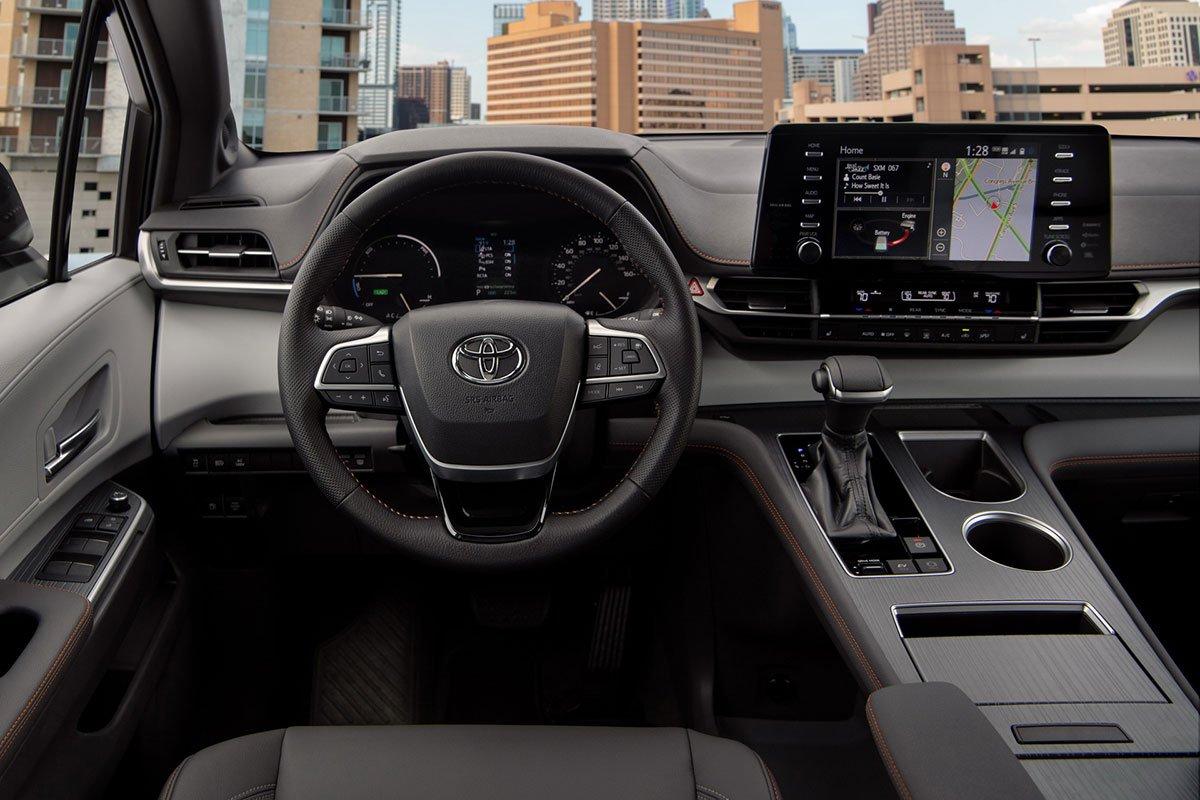 Ảnh Vô-lăng xe Toyota Sienna 2021