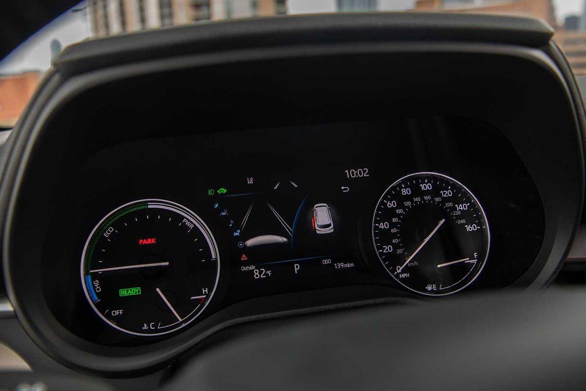 Ảnh Đồng hồ xe Toyota Sienna 2021