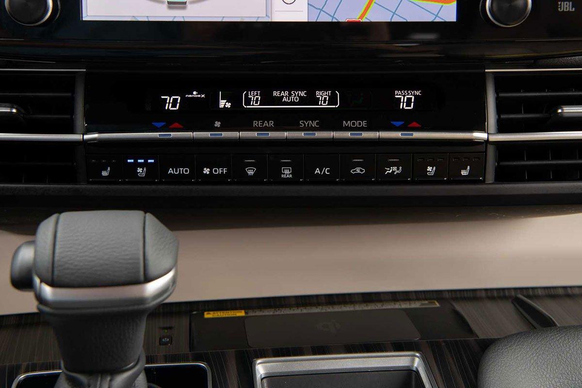 Ảnh Điều hòa xe Toyota Sienna 2021