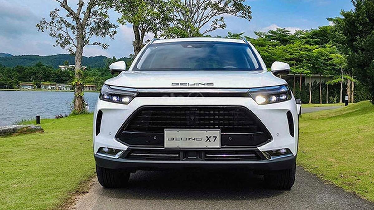 BAIC Beijing X7 2020 1.5 MT, động cơ xăng, màu trắng. Giá 528tr (1)
