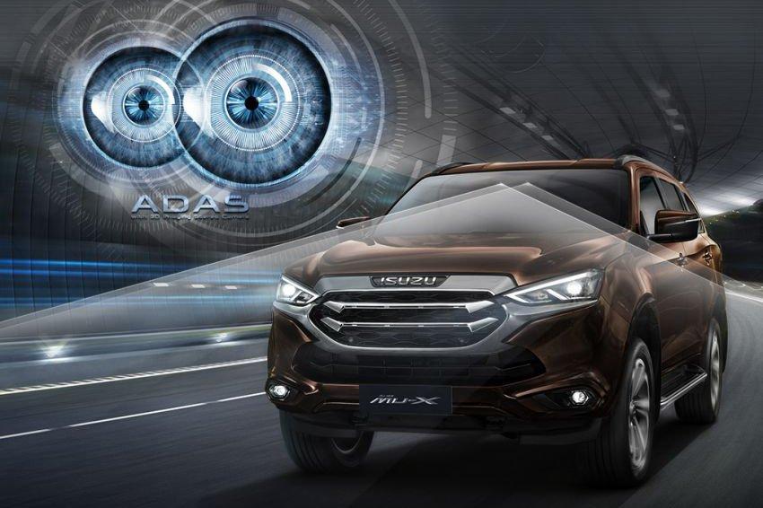 Đánh giá xe Isuzu mu-X về tính năng an toàn.