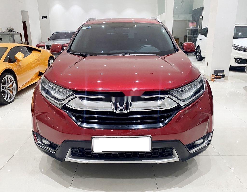 Bán Honda CR V năm 2019, màu đỏ chính chủ, giá chỉ 930 triệu (1)
