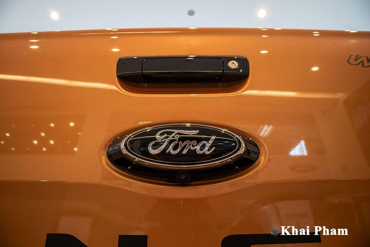 Ảnh Camera lùi xe Ford Ranger Wildtrak 2021