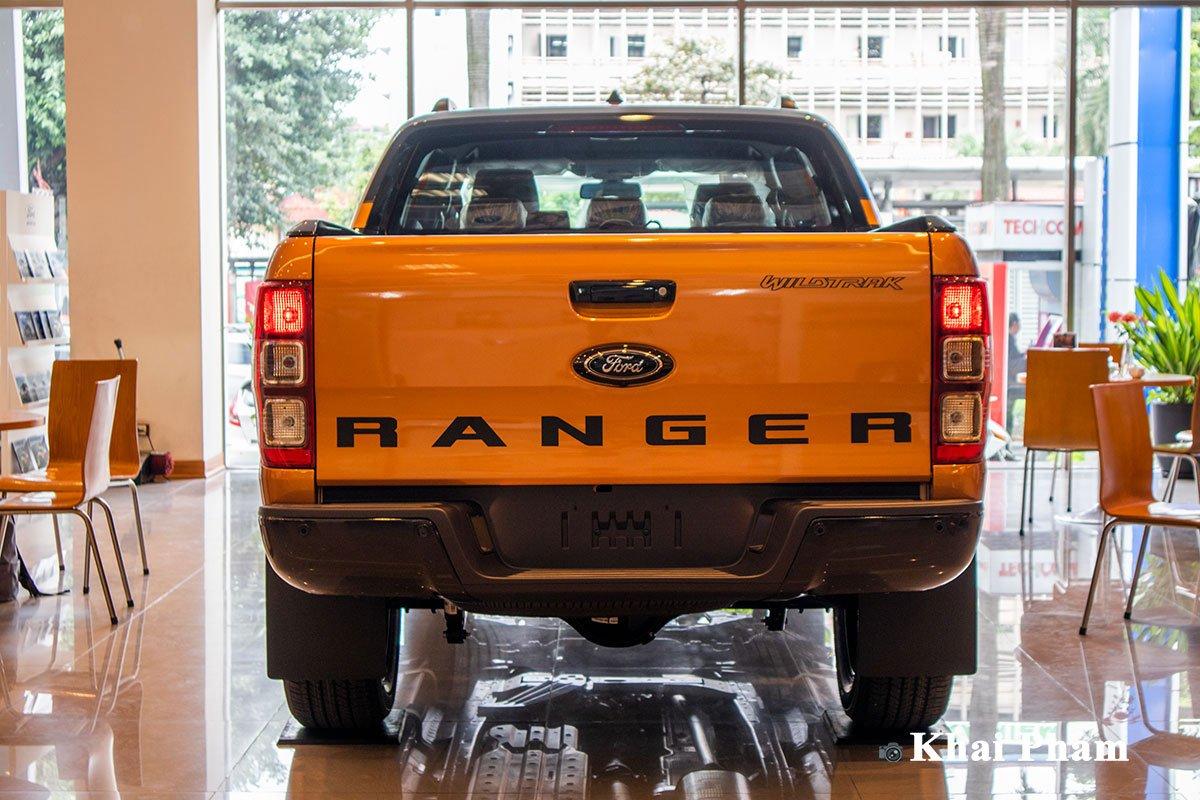 Ảnh Đuôi xe Ford Ranger Wildtrak 2021