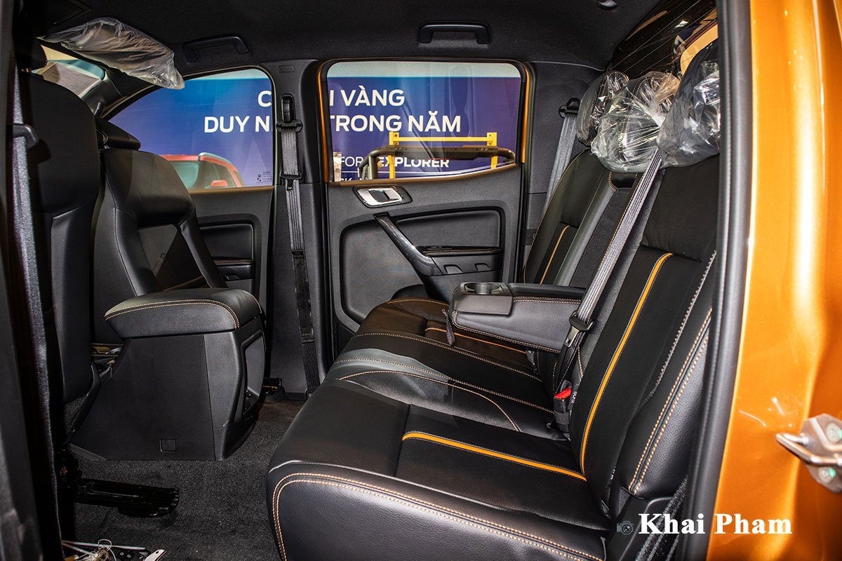 Ảnh Ghế sau xe Ford Ranger Wildtrak 2021