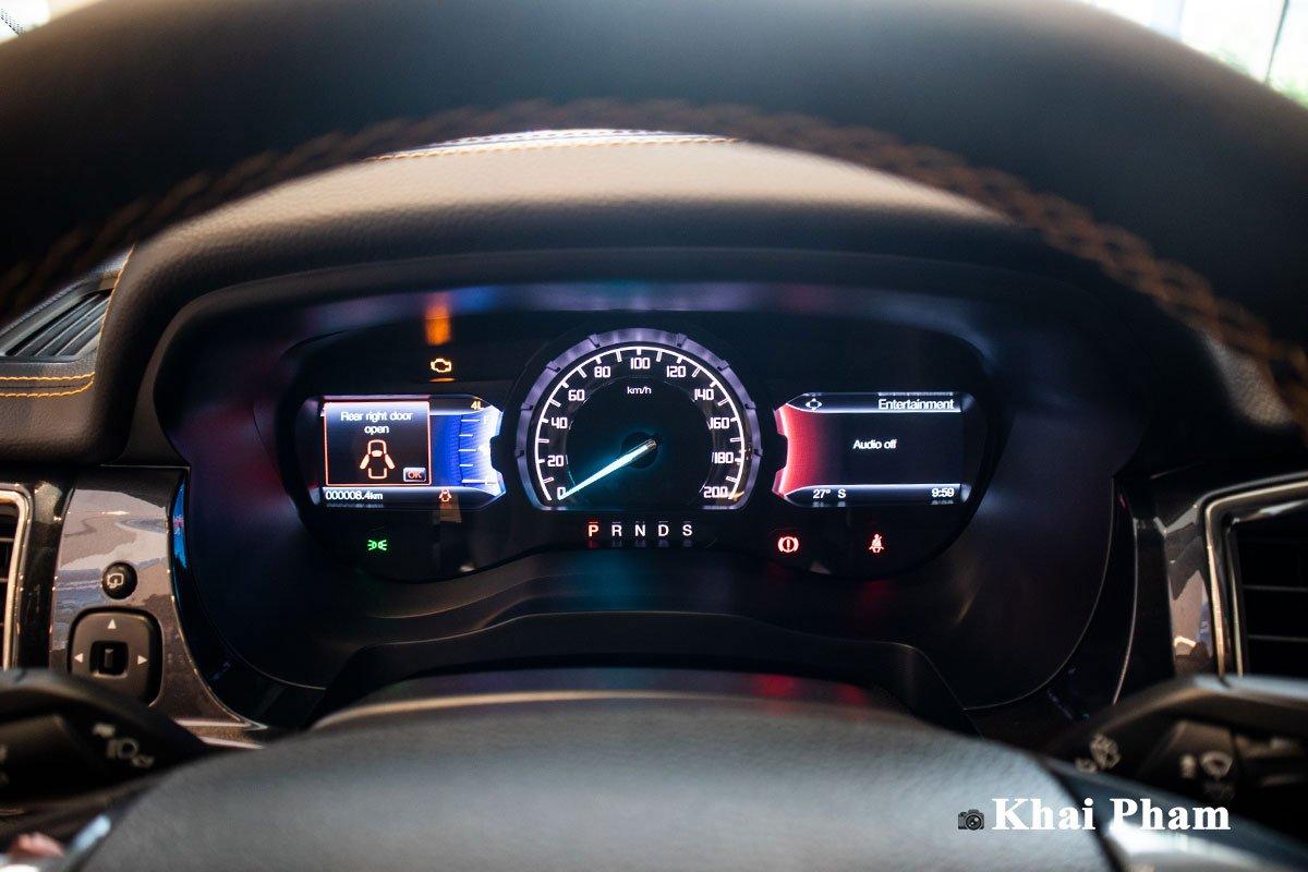 Ảnh Đồng hồ xe Ford Ranger Wildtrak 2021