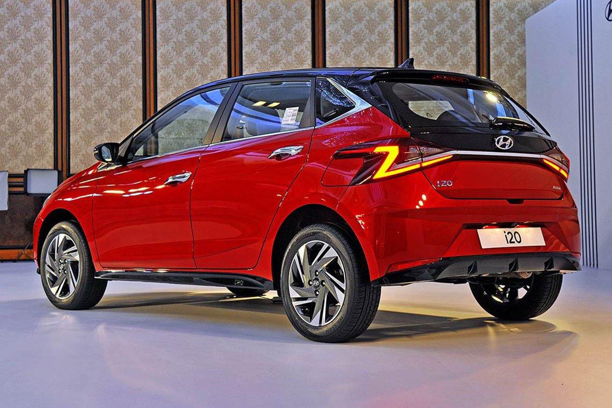Thiết kế thân xe Hyundai i20 2020 1