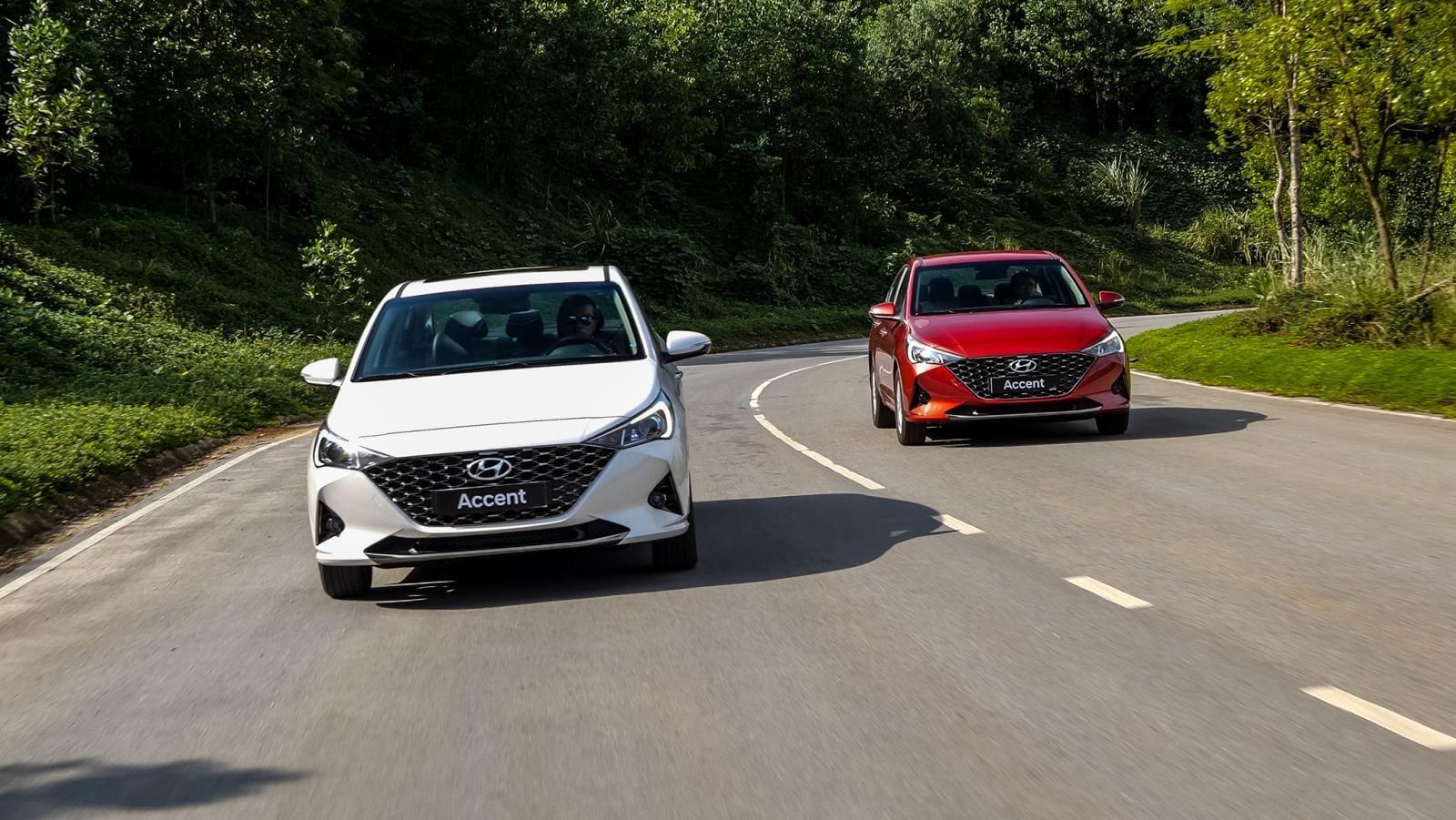 Động cơ xe Hyundai Accent 2021.