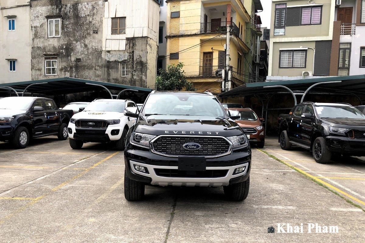 Ford Everest 2021 đã về đại lý, nâng cấp nhẹ, 3 option bị cắt a2