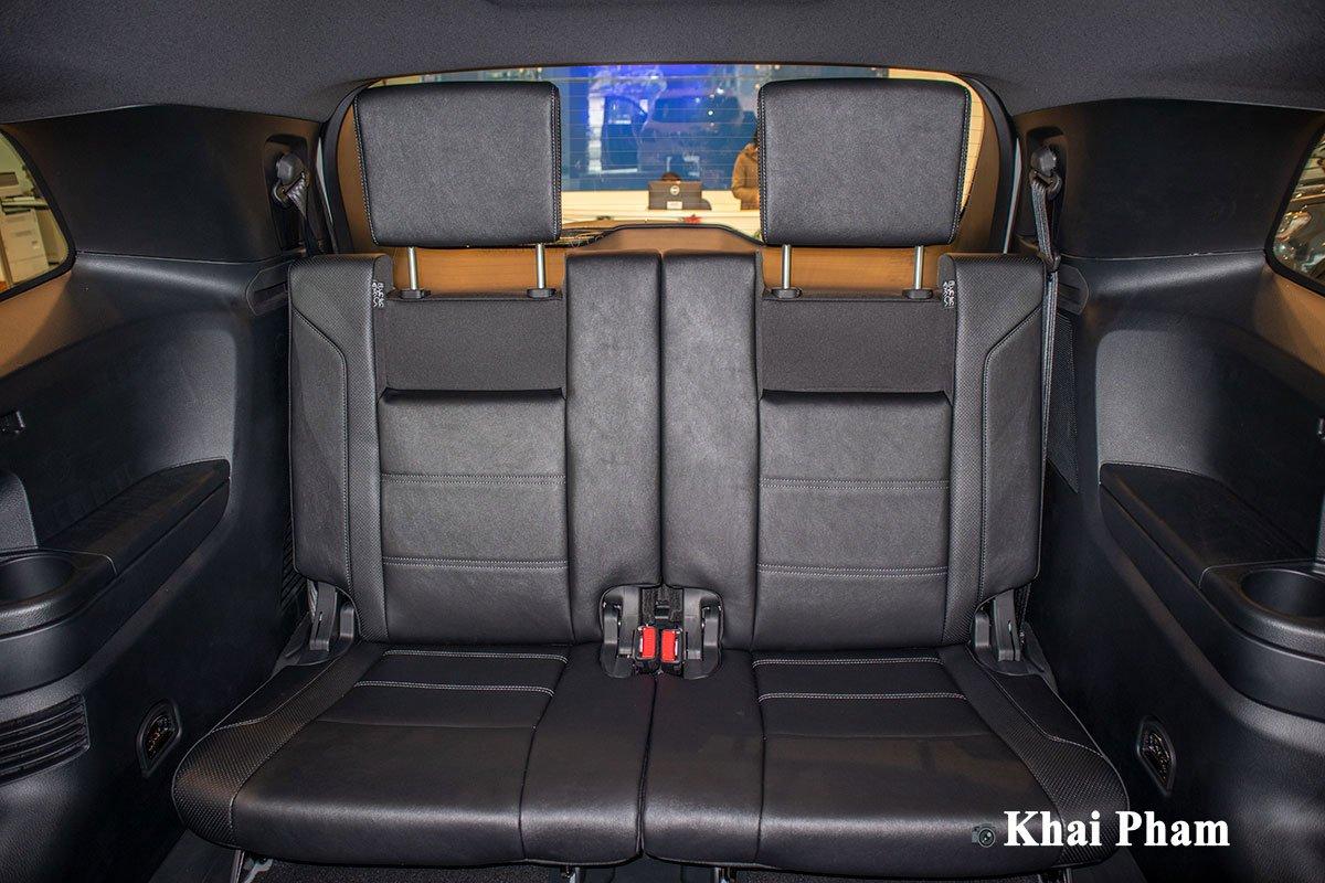 Ảnh Hàng ghế cuối xe Ford Everest 2021 a1