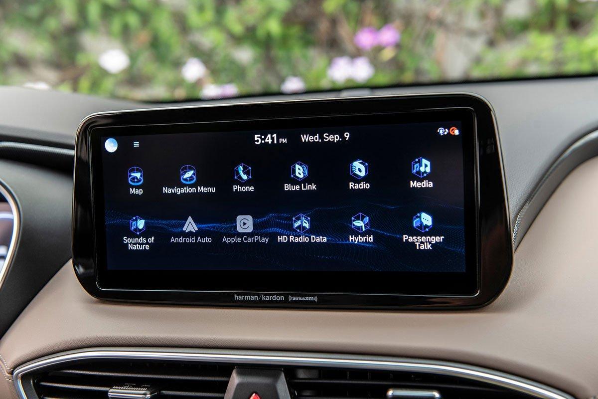 Chiêm ngưỡng vẻ đẹp của Hyundai Santa Fe 2021 sắp bán ở Việt Nam a17