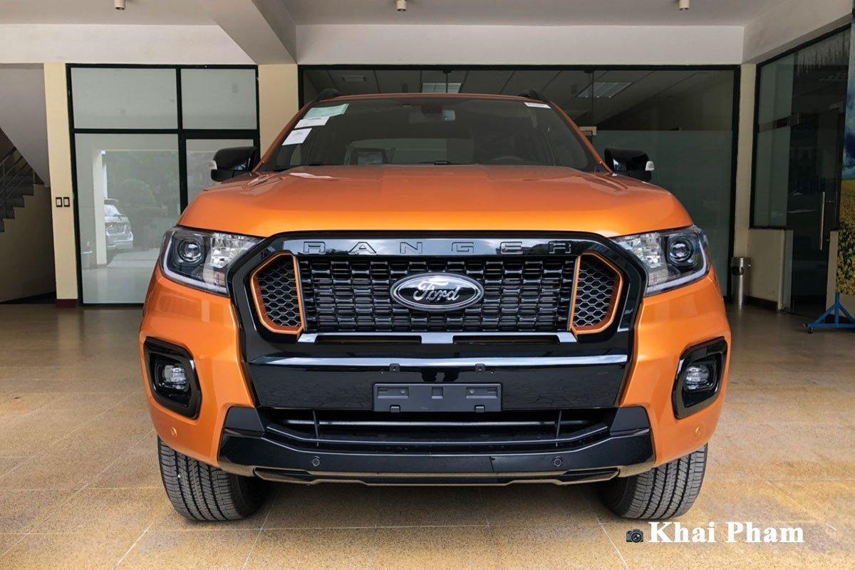 Ngoại thất xe Ford Ranger 2021.