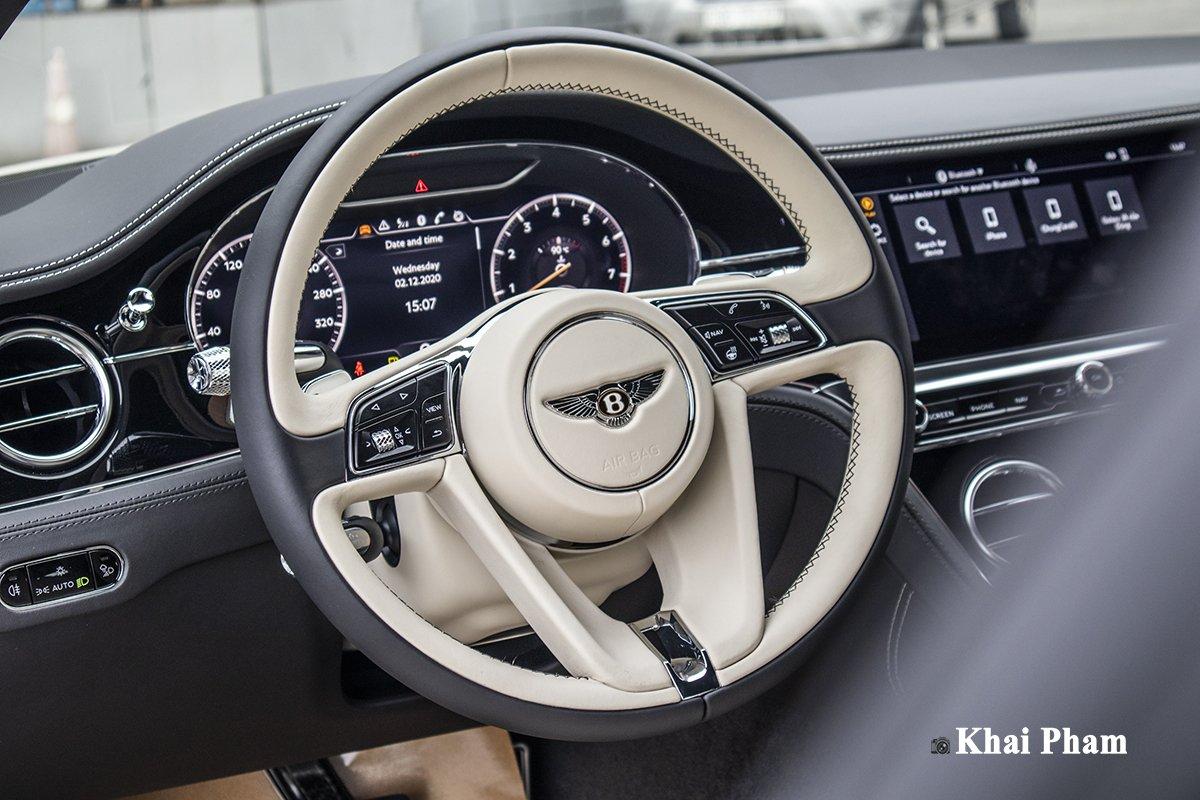 Ảnh Vô-lăng xe Bentley Continental GT 2021
