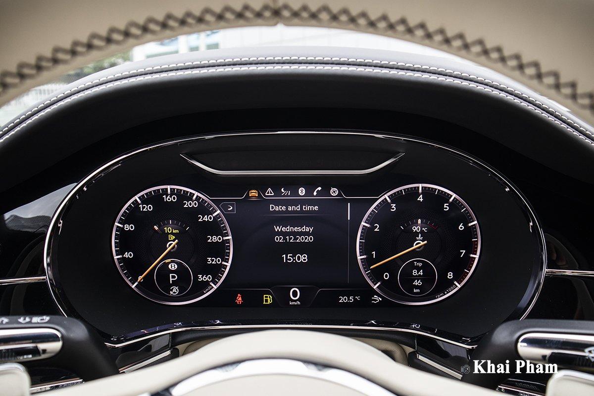 Ảnh Đồng hồ xe Bentley Continental GT 2021