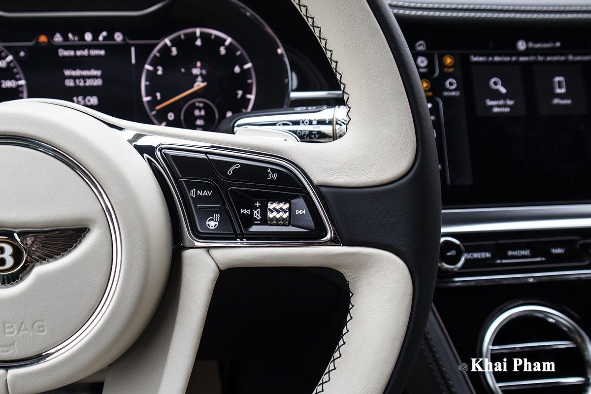 Ảnh Nút bấm xe Bentley Continental GT 2021 a1
