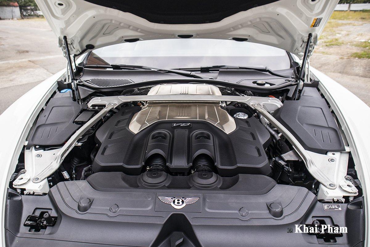 Ảnh Động cơ xe Bentley Continental GT 2021