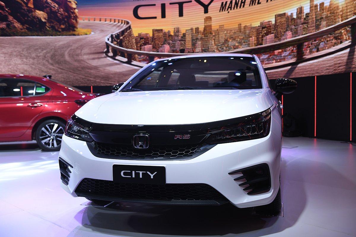 Ngoại hình của Honda City 2021 - Ảnh 1.
