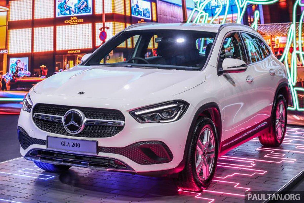 Mercedes-Benz GLA 200 2021 mới ra mắt 1