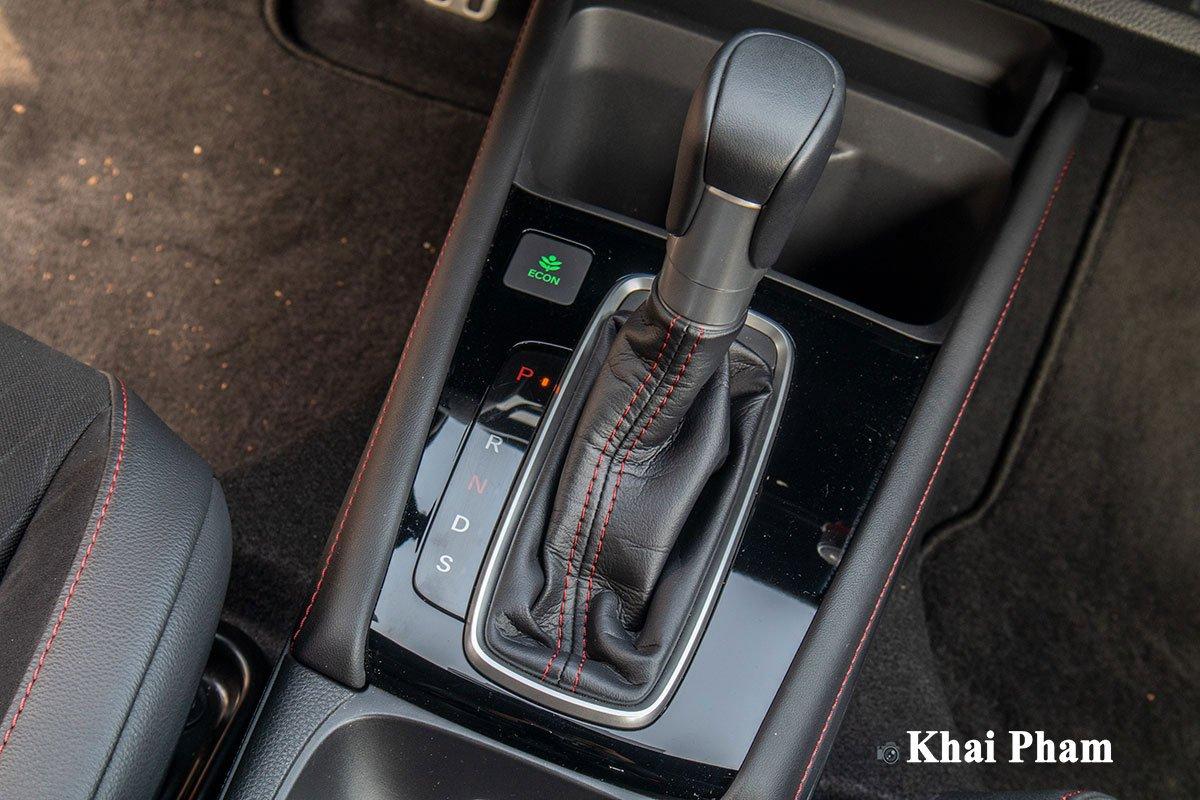Honda City 2021 sử dụng hộp số tự động vô cấp CVT đã được tinh chỉnh lại.