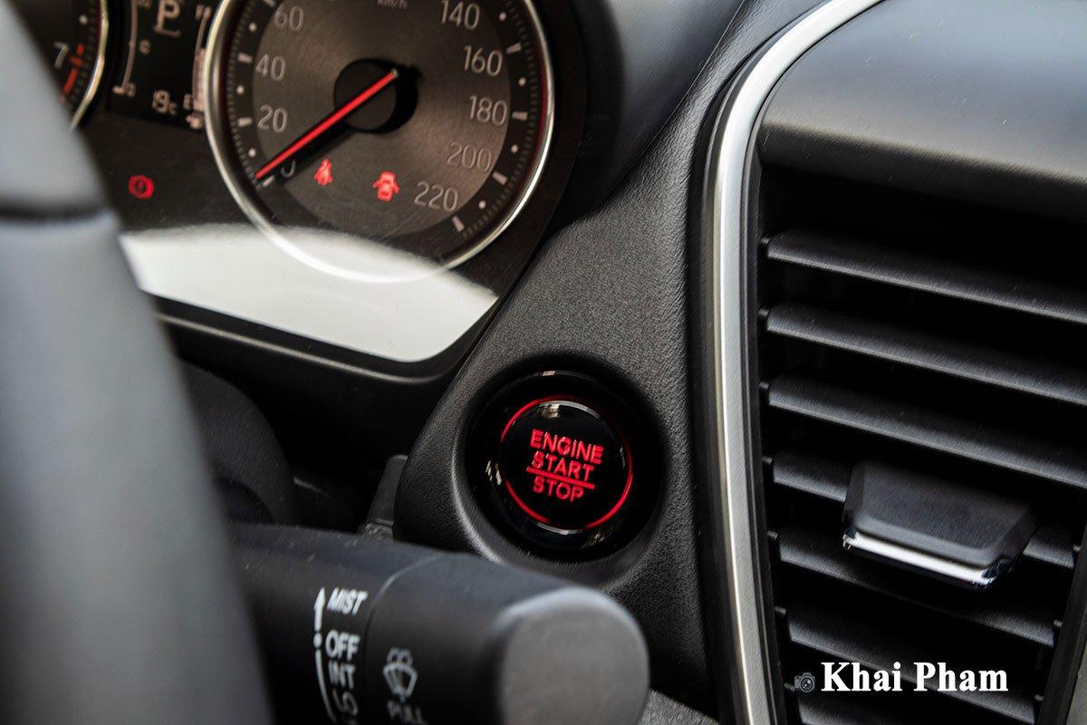 Nút bấm khởi động trên Honda City 2021.
