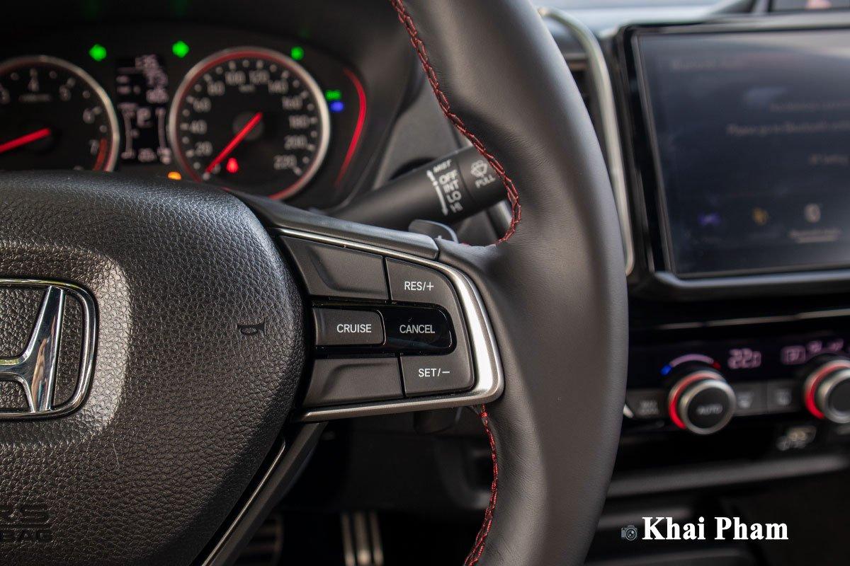 Hệ thống kiểm soát hành trình trên Honda City 2021.