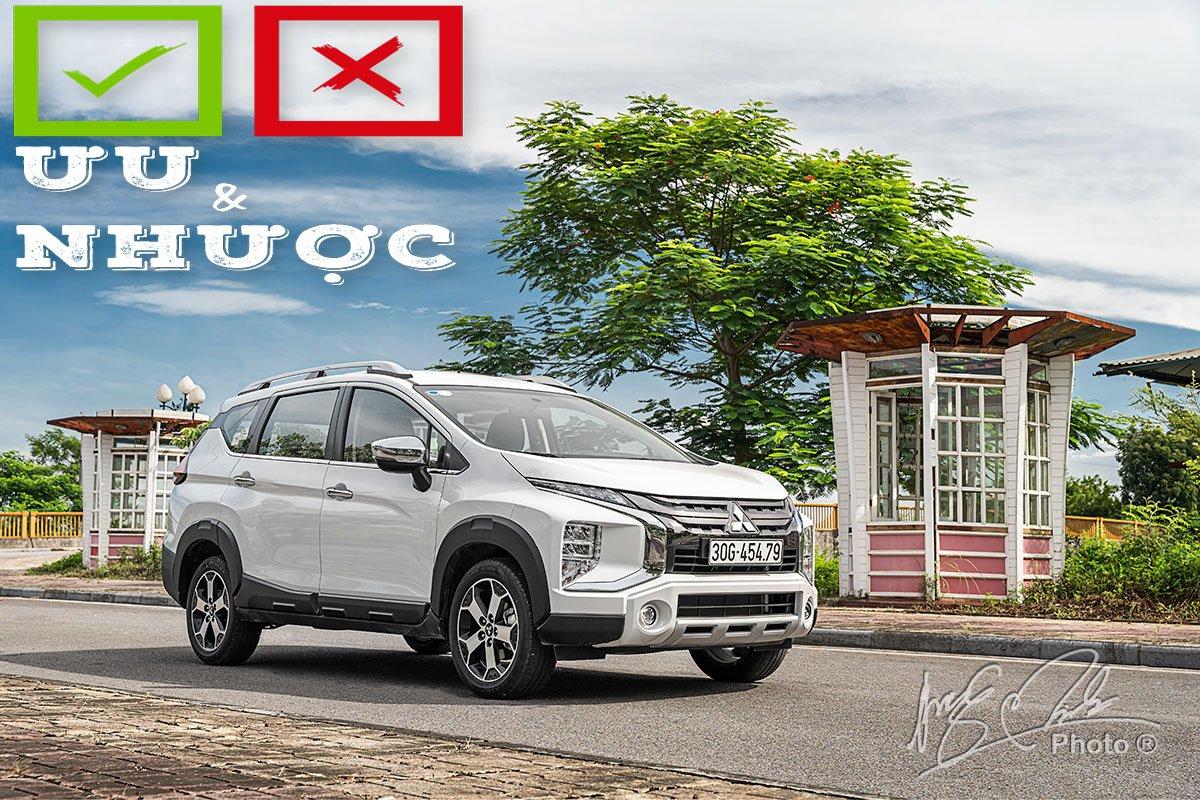 Ưu nhược điểm xe Mitsubishi Xpander Cross 2021 a1