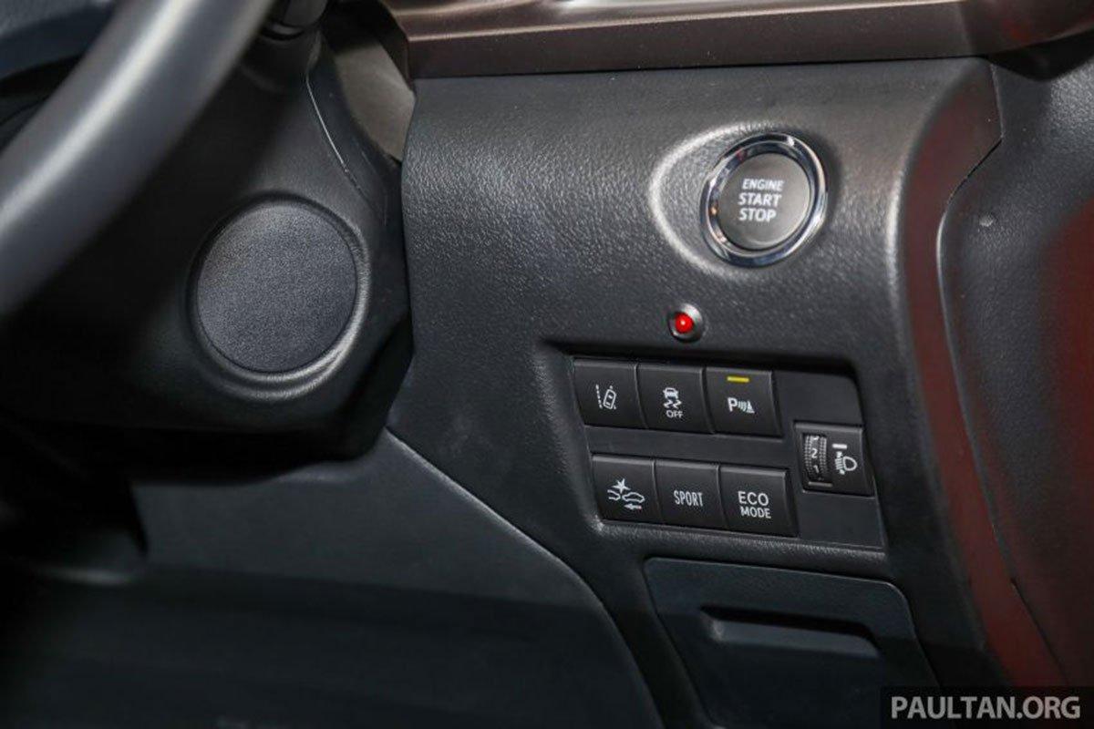 Nút bấm khởi động xe Toyota Vios 2021 1