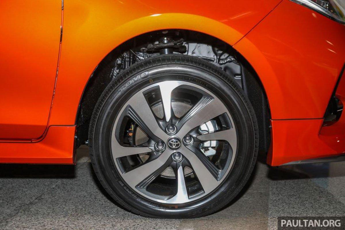 Bộ la-zăng hợp kim trên Toyota Vios 2021 1